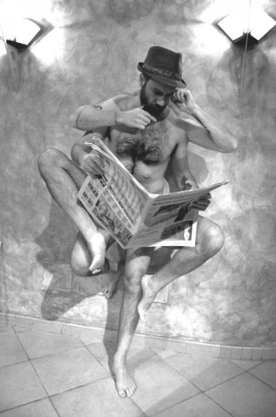 """Marco Casolino, """"Vitruviano a riposo"""", 2010"""