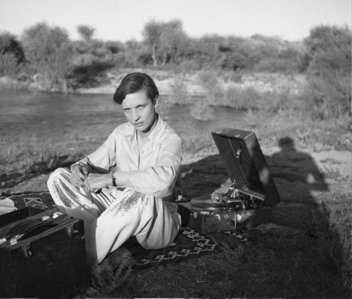 Annemarie Schwarzenbach in Persia nel 1940