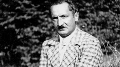 Martin Heidegger in una foto giovanile