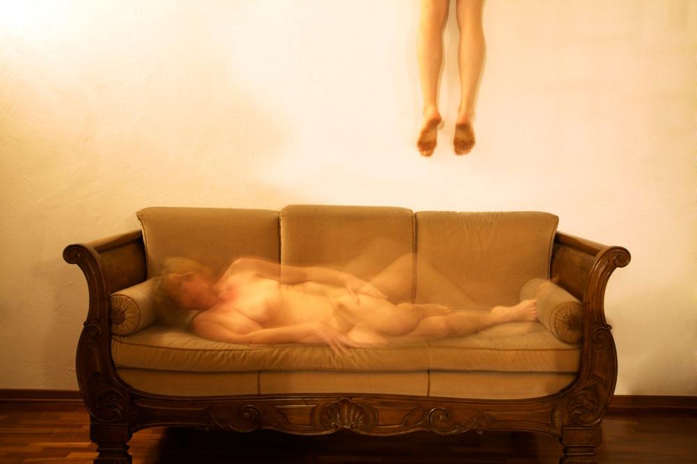 """Dalla serie fotografica """"Los respiros del alma"""" -Donatella D'Angelo e Jose Lasheras (2013)"""