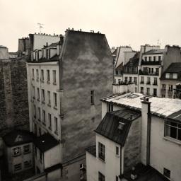 Silvia Castellani, I tetti di Parigi