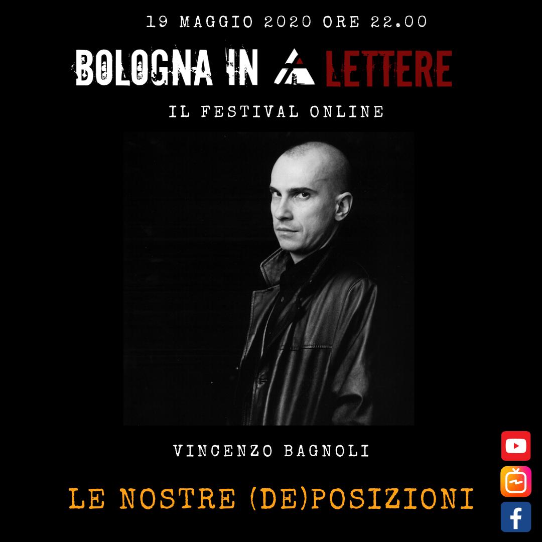 Bologna in Lettere 2020 – Le nostre (de)posizioni – Sonia Caporossi VS Vincenzo Bagnoli